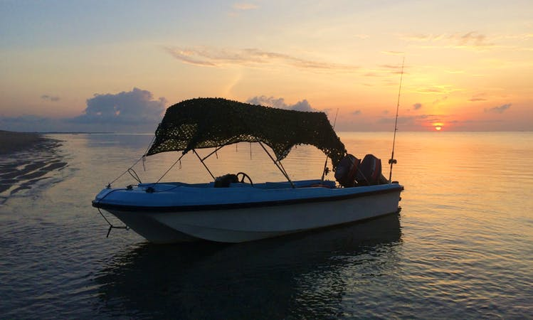Enjoy Fishing in Kambera, Indonesia on Center Console