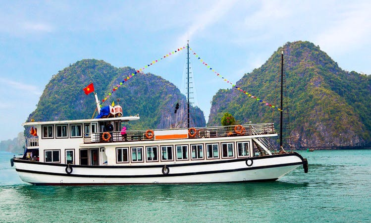 Halong Bay one day tour in Hanoi, Vietnam