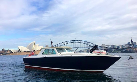 Charter Mv Salute Motor Yacht On Sydney Harbour