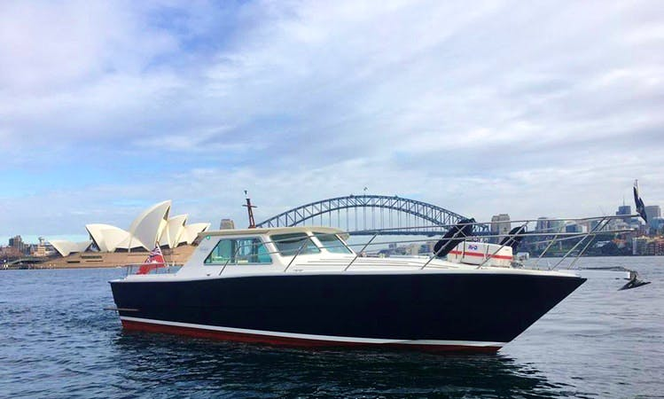 Charter MV Salute Motor Yacht on Sydney Harbour