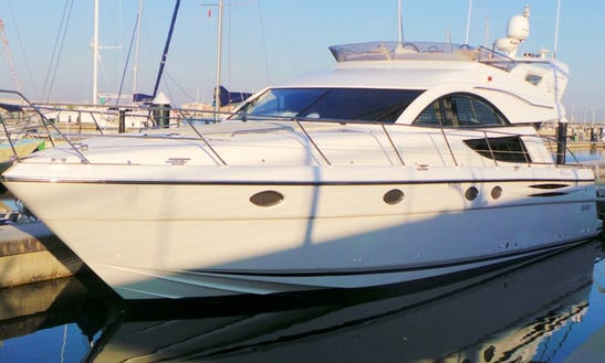 Charter A Fairline Phantom 50 Power Mega Yacht For 6 Person In North Holland, Netherlands