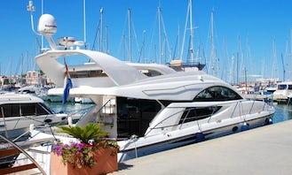 Unforgettable Holiday Trip aboard Fairline Phantom 50 Mega Yacht in North Holland, Netherlands