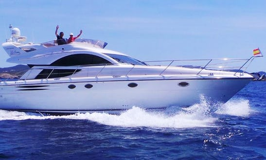 Fairline Phantom 50 Mega Yacht With Luxury 3 Cabins In North Holland, Netherlands