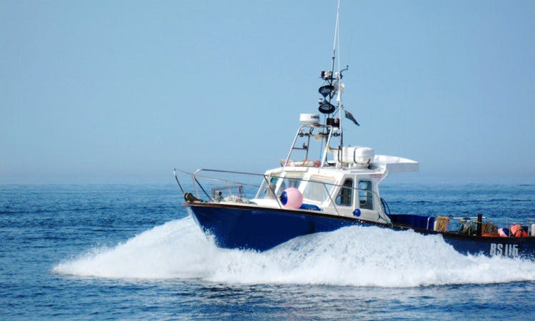 "Fishing Trip Charter On ""Lady Gwen II"" Lochin 33 With Captain Sean In County Clare, Ireland"