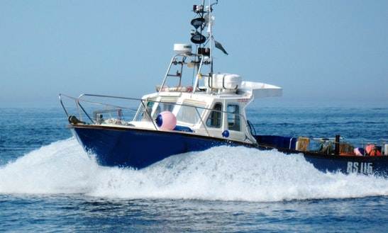 Inboard Propulsion Fishing Charter In County Clare