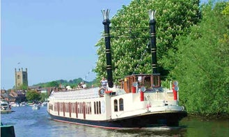 """Charter on 90ft """"The New Orleans"""" Passenger Boat in Henley-on-Thames, England"""