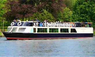 """Charter on 66ft """"The Waterman"""" Passenger Boat in Henley-on-Thames, England"""