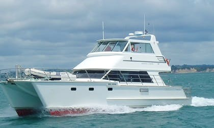 Power Catamaran charter in Auckland, New Zealand