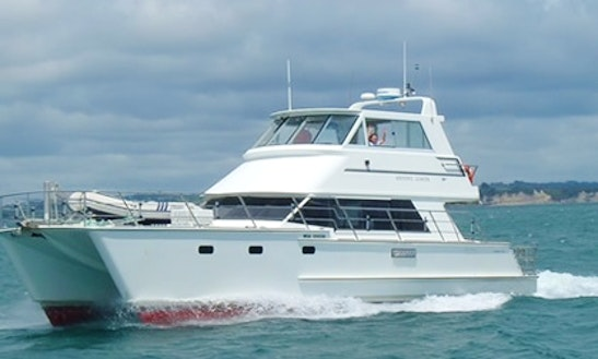Power Catamaran Rental In Auckland