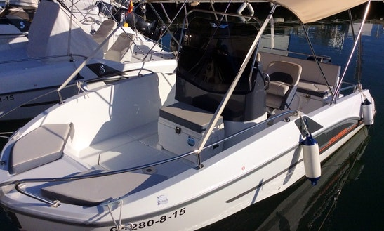 Rent The New Model Flyer 5.5 Spacedeck Boat In Cambrils, Spain