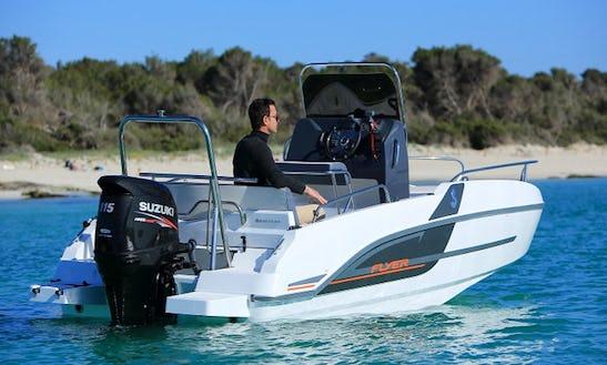 Rent The New Model Flyer 5.5 Spacedeck Boat In Torroella De Montgrí