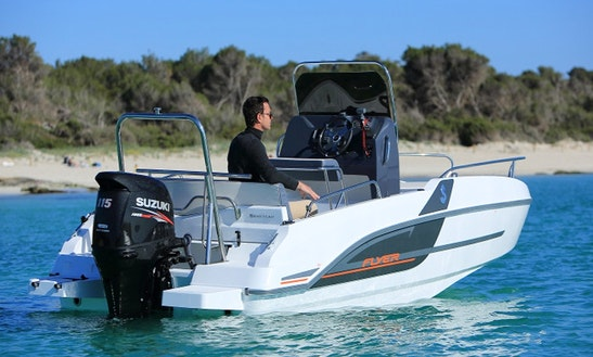 Rent The New Model Flyer 5.5 Spacedeck Boat In Torroella De Montgrí