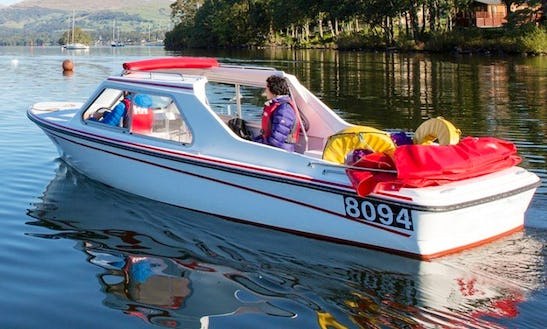 Hire Self Drive Doreen Electric Boat In Bowness-on-windermere, England