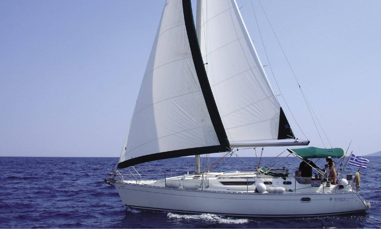 Sailboat hire for a day in Chalkidiki