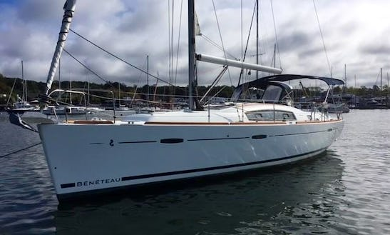 San Diego Private Yacht Cruise On Beneteau Oceanis 40 Sailing Yacht