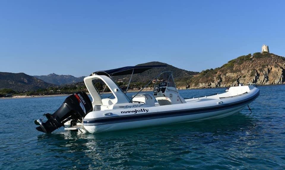 Charter Nvoua Jolly Rigid Inflatable Boat in Sardegna, Italy