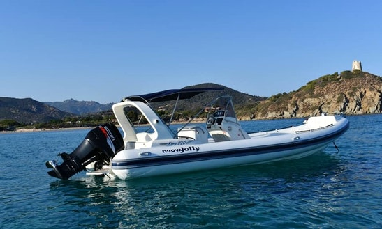 Charter Nvoua Jolly Rigid Inflatable Boat In Sardegna, Italy