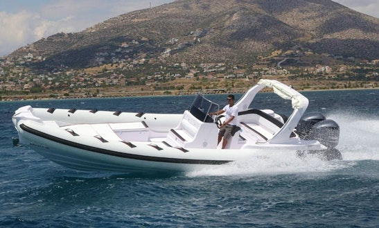 Charter Selva Rigid Inflatable Boats In Kassiopi, Greece
