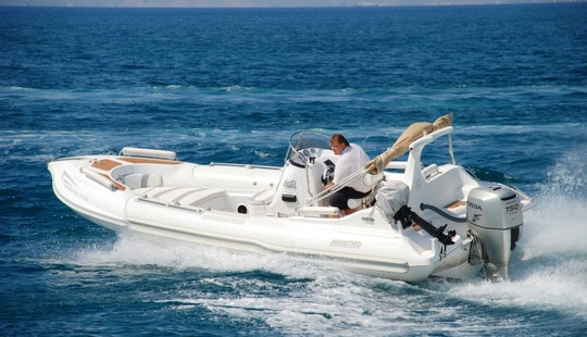 Charter Mostro Family 650 Rigid Inflatable Boats In Kassiopi, Greece