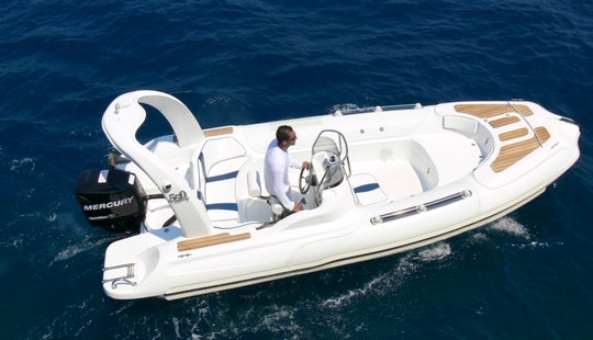Charter Mostro Family 550 Rigid Inflatable Boats In Kassiopi, Greece