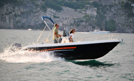Rent 18' Terminal Center Console In Salerno, Italy