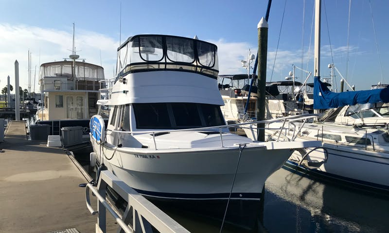 Inboard Propulsion rental in Seabrook with Captain