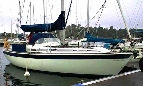 Charter This Beautiful Sailboat In Scotland