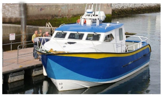 Hire The 12 Passenger Boat In Dingle, Ireland
