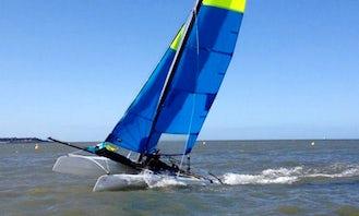 Beach Catamaran Rental in Colwyn Bay
