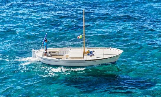 Charter 25' San Nicola Inboard Propulsion In Positano, Italy