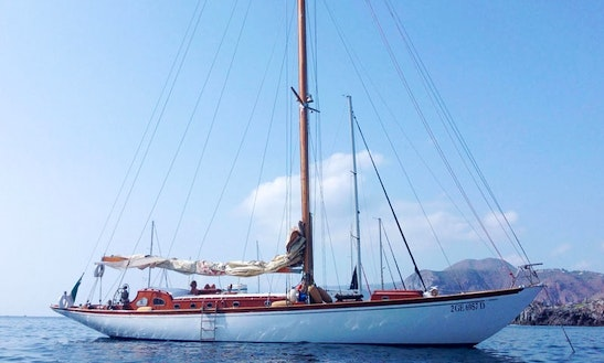 Charter 59' Janabel Sloop In Palermo, Italy