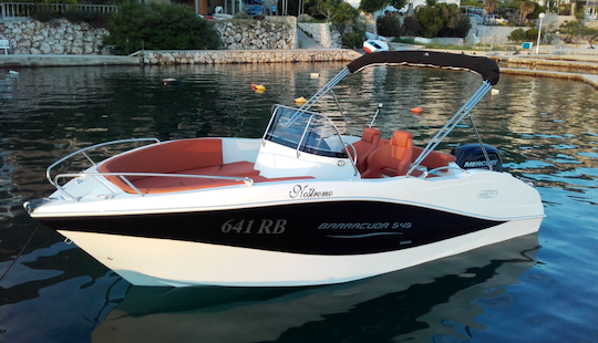 Rent 18' Barracuda 641 Rb Center Console In Supetarska Draga, Croatia