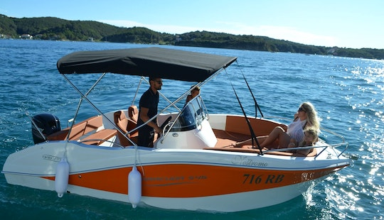 Rent 18' Barracuda 716 Rb Center Console In Supetarska Draga, Croatia