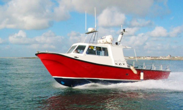 Offshore Sailing Boat and Fishing In Wexford