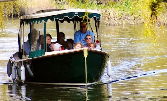 Guided River Boat Tour Or Private Voyage For 12 People In Canterbury, Uk