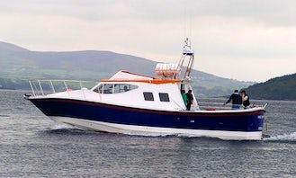 Enjoy Fishing in Donegal, Ireland on 42' Cuddy Cabin