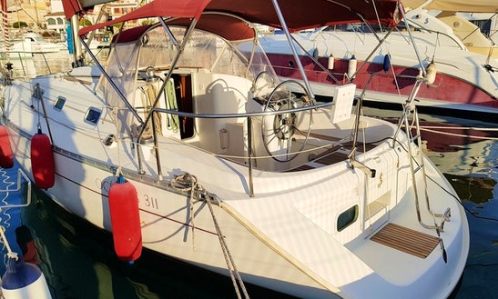 Oceanis Clipper 311 Sailboat Charter In Costa Daurada, Cambrils