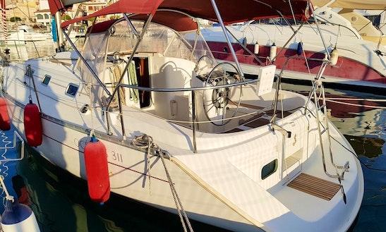 Oceanis Clipper 311 Sailboat Charter In Costa Daurada, Cambrils