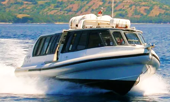 Ride A Fast Boat From Bali To Gili Islands