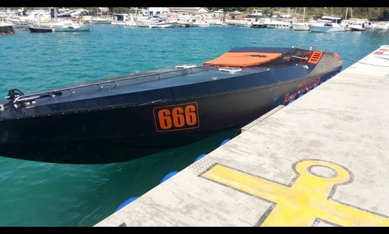 Luxury Speed Boat In Split.  500€+100€ Skiper +gas Per Day
