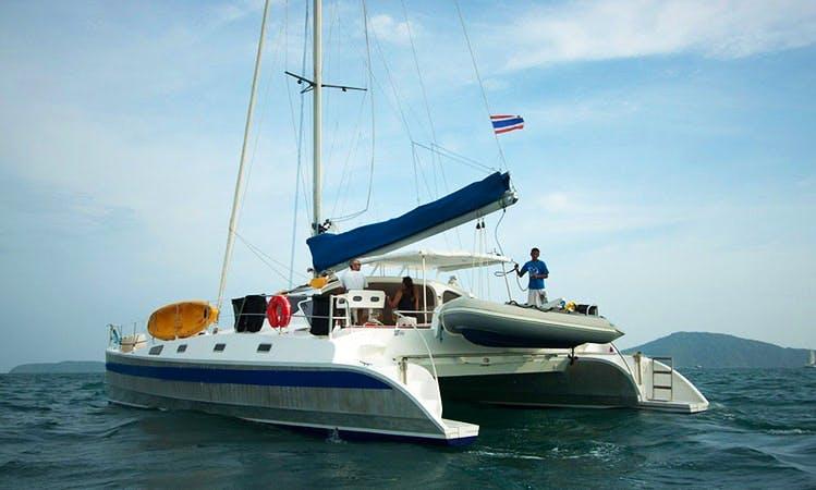 """Enjoy 48 ft """"Amadeus"""" Cruising Catamaran Charter in Tambon Rawai Chang Wat, Phuket"""