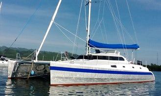 "Sailing Catamaran ""Amadeus"" in Phuket, Thailand"