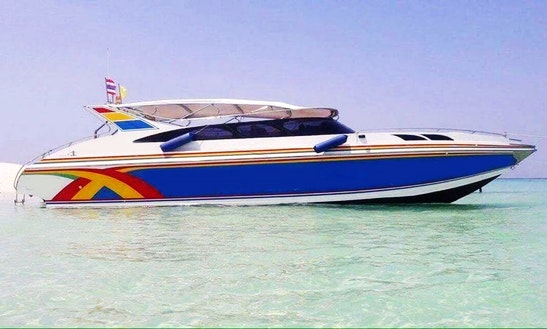 Charter A Passenger Boat In Phi Phi Islands, Thailand 15-35person 19900 ฿