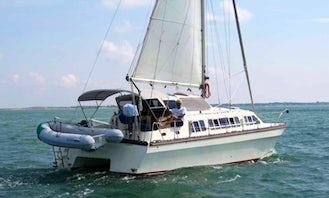 26' Cruising Catamaran Siamese CatRental in Muang Pattaya