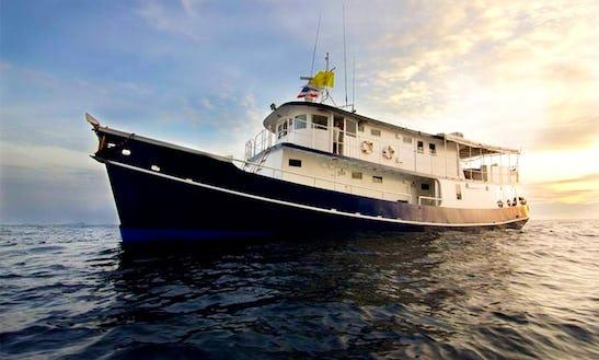 Mv Giamani - Charter The Yacht  For Cruising Thailand