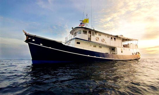 Mv Giamani - Charter The Yacht  For Cruising Thailand