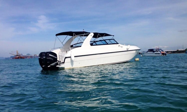 Charter a 10 Person Motor Yacht in Tambon Pak Nam, Thailand