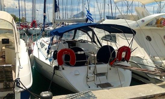 Jeanneau Sun Odyssey 40 Sailing Yacht Charter Athens, Greece