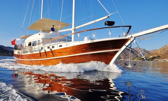 Charter The Sailing Yacht Of Your Dreams 68'