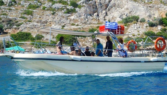 A Fantastic Sightseeing Boat Trip In Agios Nikolaos, Greece For 19 People